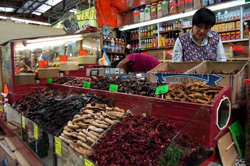 Los mercados populares: laberintos gustosos