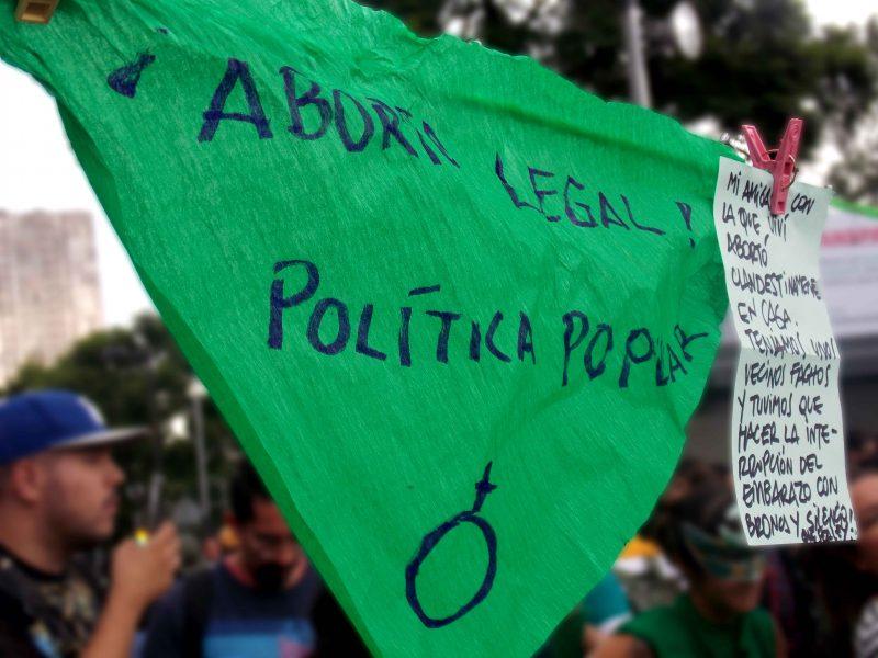 ¡Mi cuerpo, mis decisiones! La marcha por el aborto legal en todo México