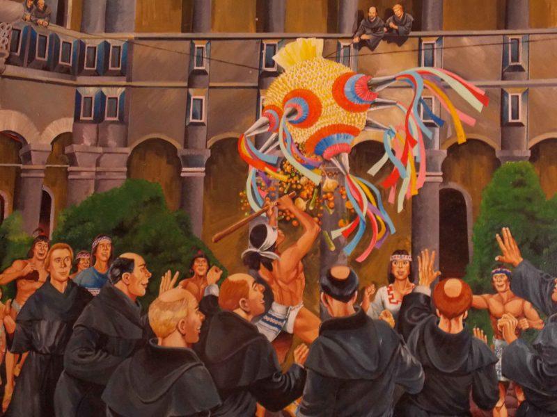 Acolman, la tierra de la piñata mexicana