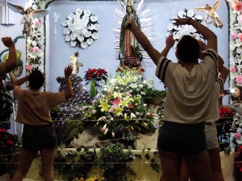 Un perreo para la Virgen de Guadalupe