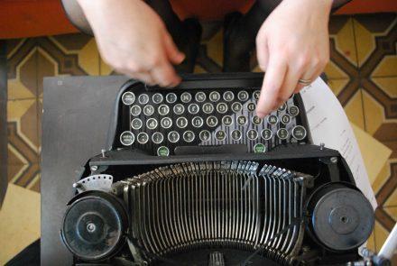 Máquinas de escribir: antiguas contadoras de historias