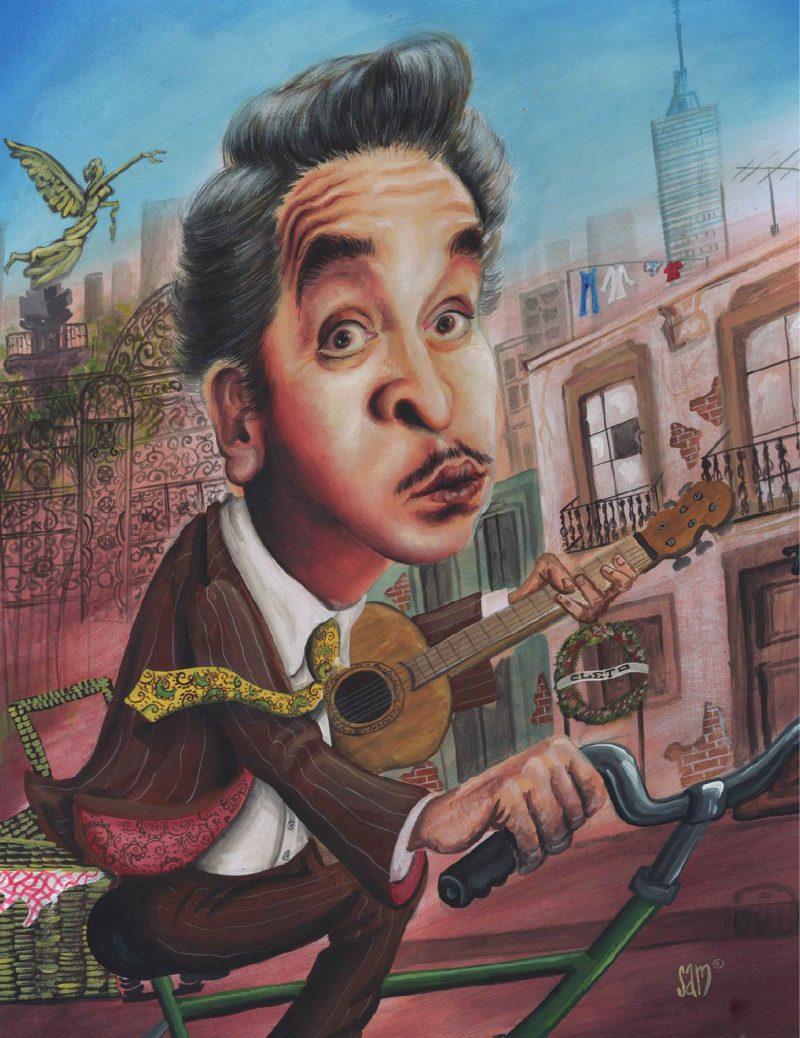 Chava Flores, caricaturista musical de la vida común