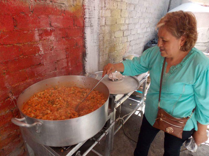 El sabor de la fe. Las cocineras de la Pasión de Iztapalapa