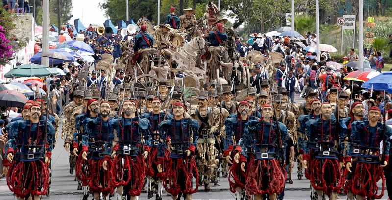 Cinco de mayo. La batalla de Puebla en el Peñón de los Baños