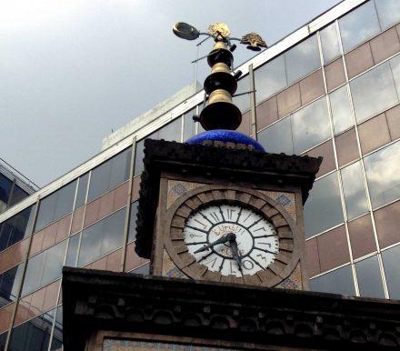 El reloj Otomano. Recuerdo de la migración turca a México