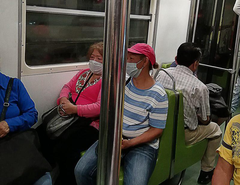 Viajar en metro en tiempos de coronavirus