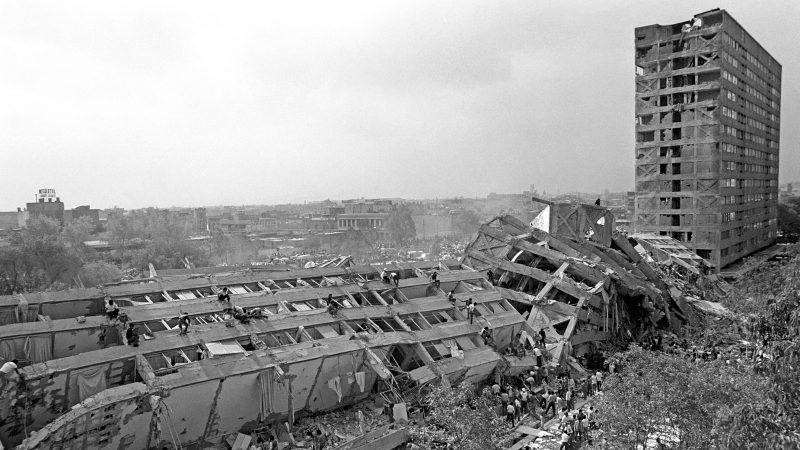1985: el temblor en un túnel del metro