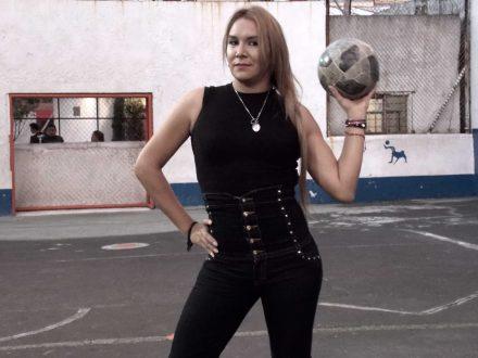 Noemí, la crack del futbol LGBT en Azcapotzalco